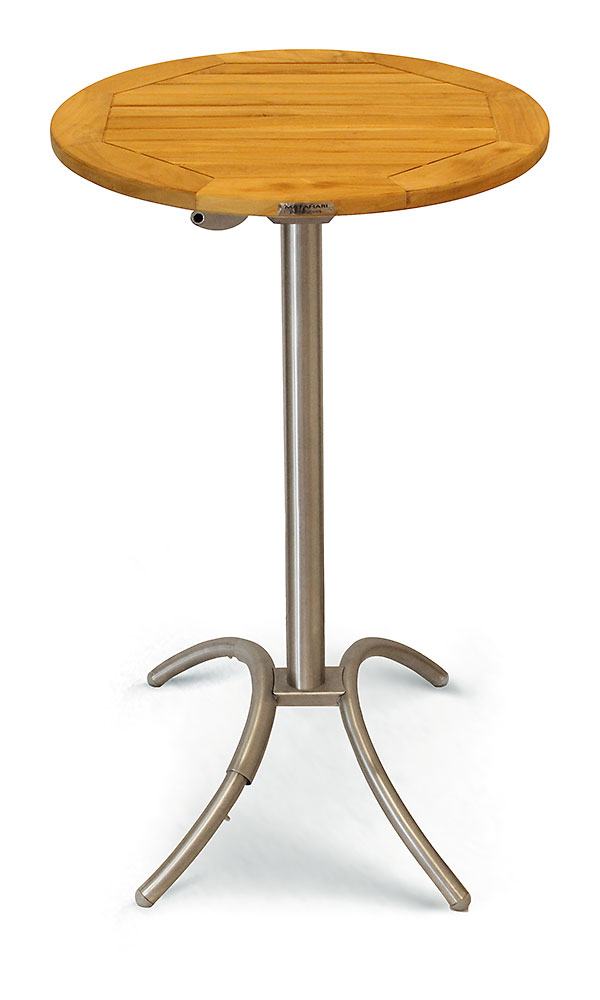 COLUMBUS 1-säulig, H 72cm, fix, 2 Verstellbügel