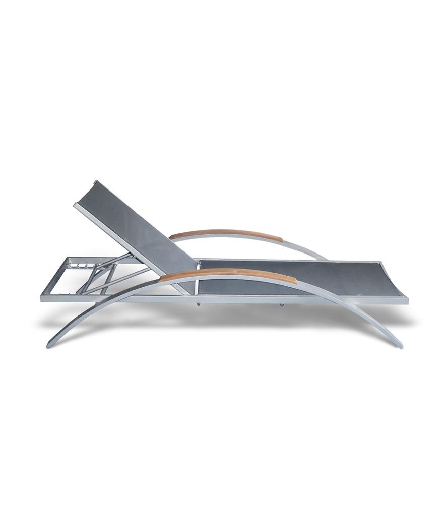Stapelliege Wing mit Batyline Bespannung