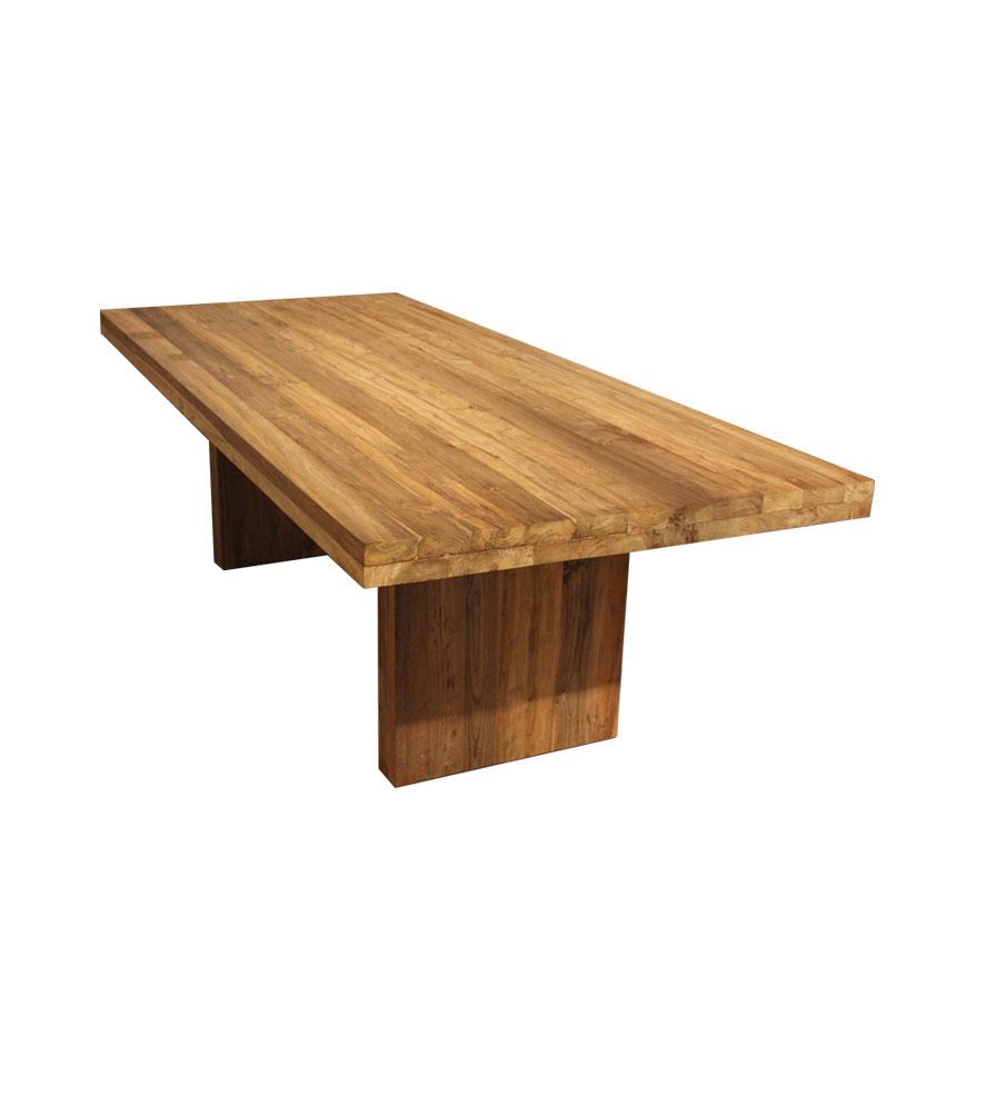 Tisch Arthus 280x110 cm Wange Holz