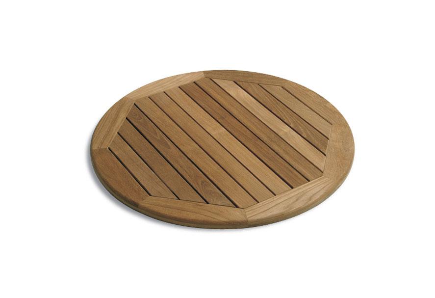 Tischplatte Teak rund, 100 cm