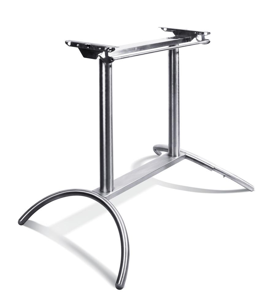 Tischgestell COLUMBUS, verzinkt, 2-säulig
