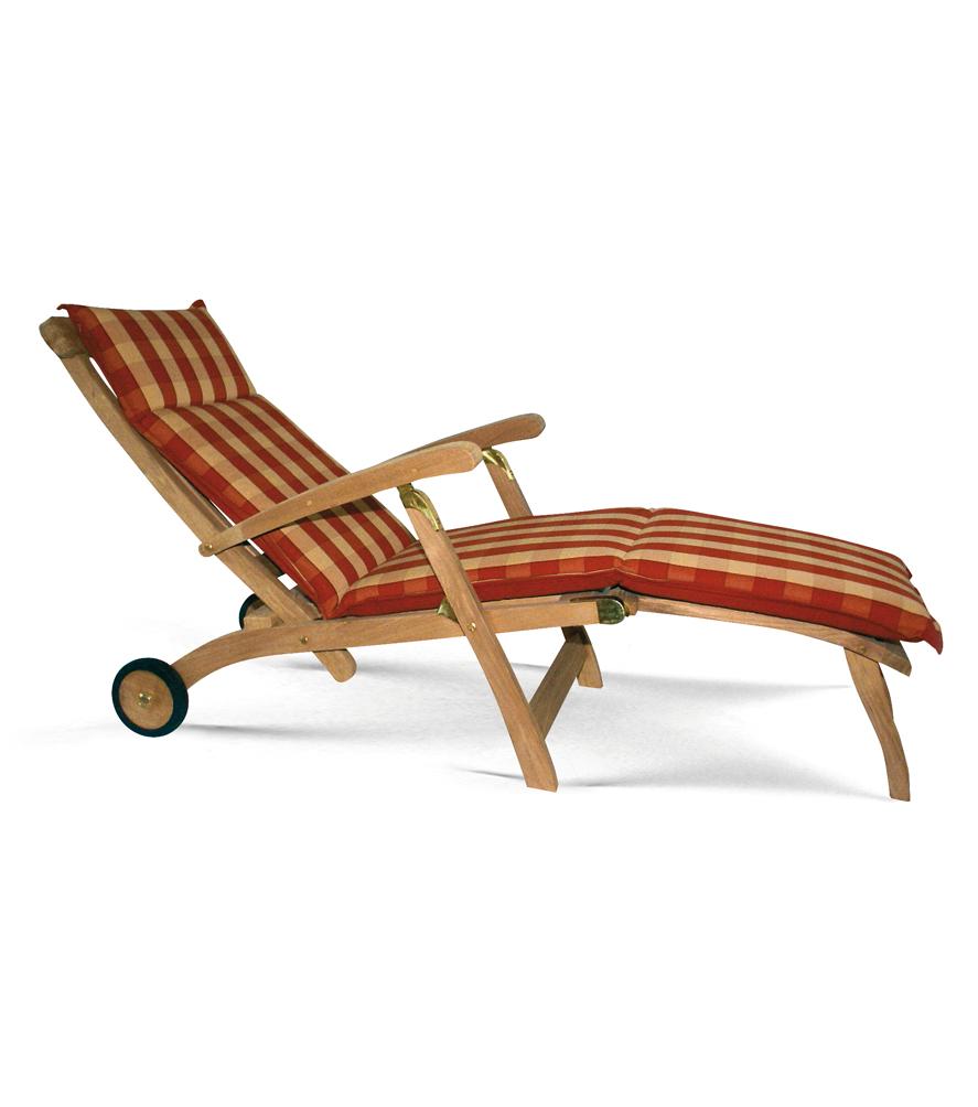 Deck Chair mit Rädern