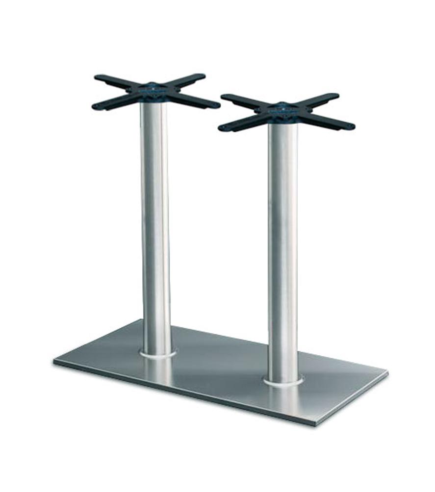 Tischgestell Base, 2-säulig, 80x40cm